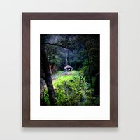 Walhalla Train Depot (Re… Framed Art Print