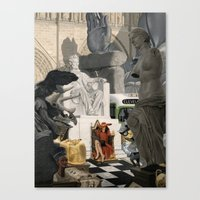 Kleptomaniac Canvas Print