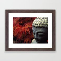 Autumn - Buddha Framed Art Print