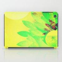 Tropical Sun Drops heat iPad Case