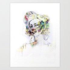 Red Nose Art Print