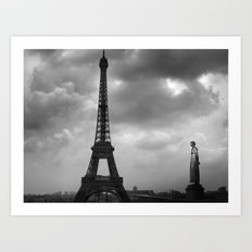 Eiffel Tower 2 Art Print