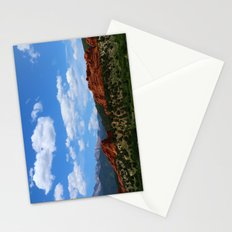 Garden Of Gods View With Kissing Camels Stationery Cards