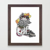 Gata Framed Art Print