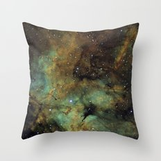 Gamma Cygni Nebula Throw Pillow