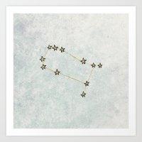 Gemini X Astrology X Zod… Art Print