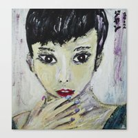 FAN BING BING Canvas Print