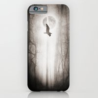 iPhone Cases featuring fly away by Viviana Gonzalez