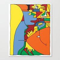 Study no. 7 Canvas Print