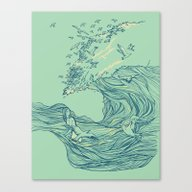 Ocean Breath Canvas Print