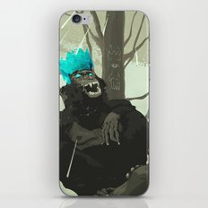 Uneasy Lies the Head That Wears the Holographic Crown iPhone & iPod Skin