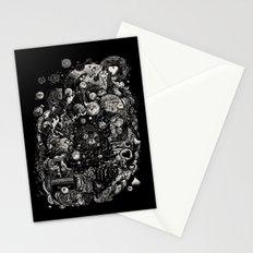 Spark-Eyed Oblivion Cascade Blues Stationery Cards