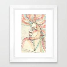 Pastel Dream Framed Art Print