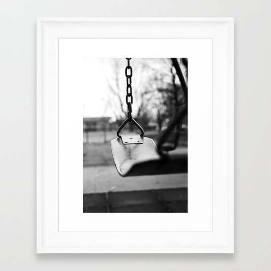 Swing Away Framed Art Print
