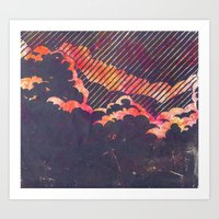 Red Sky In The Morning... Art Print