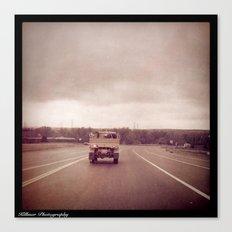 American Driving Canvas Print
