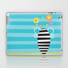 Whimsy Graphic Vase Laptop & iPad Skin