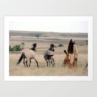 You Will Not Ride Today Art Print