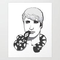 Snake Charmers S1E2 Art Print