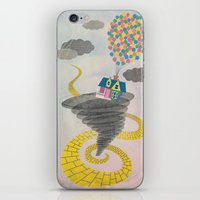 The Wizard Of Up iPhone & iPod Skin