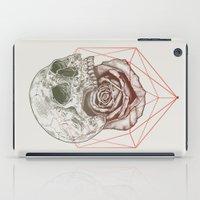 Skull Rose Geo iPad Case