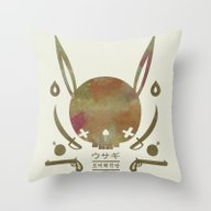 토끼해적단 TOKKI PI… Throw Pillow