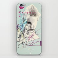 Running with horses iPhone & iPod Skin