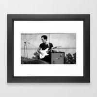 Junior - The Strokes Framed Art Print