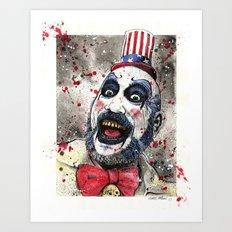 Captain Spaulding -The Devil's Rejects Art Print