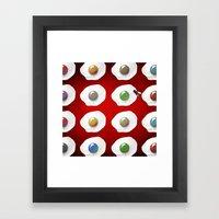 Disco Breakfast Framed Art Print