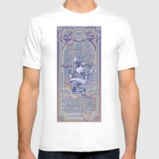 Aceite Fino SMALL White Mens Fitted Tee