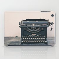 Typewriter iPad Case