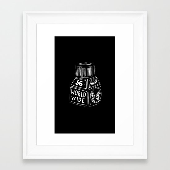 S6 WORLD WIDE!!!! Framed Art Print