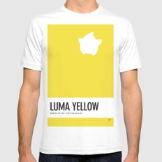 No40 My Minimal Color Code poster Luma Mens Fitted Tee White SMALL