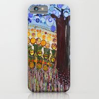 :: Indiana Blue Willow :… iPhone 6 Slim Case