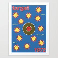 target single hop Art Print