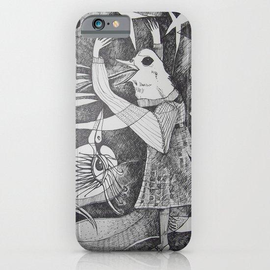 Bird Girl iPhone & iPod Case