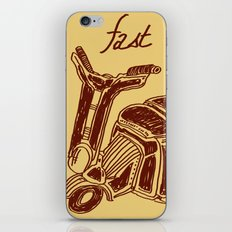 Fast And Class iPhone & iPod Skin