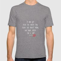 Esperantos Quotes #1 (Ma… Mens Fitted Tee Tri-Grey SMALL