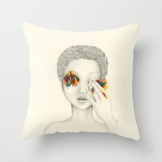 Give Me Your Eyes Throw Pillow