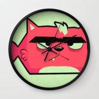 Cat-Fish Wall Clock
