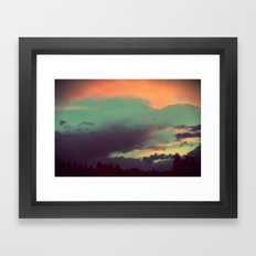 Cloud Symphony PNW Framed Art Print