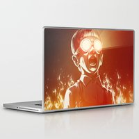 food Laptop & iPad Skins featuring FIREEE! by Dr. Lukas Brezak