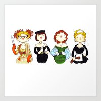 Ladies Of Clue Art Print