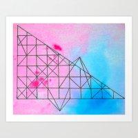 Geometric 536 Art Print