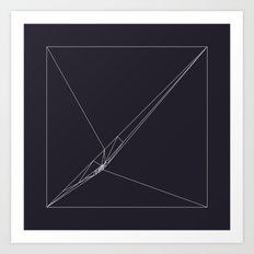 #115 Rip – Geometry Daily Art Print