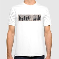 On the way (The Fellowship of the Ring, LOTR) Mens Fitted Tee White SMALL