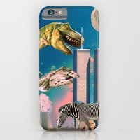 iPhone & iPod Case featuring Dino Blaster by haydiroket