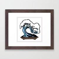 BONSAIIIII! Framed Art Print