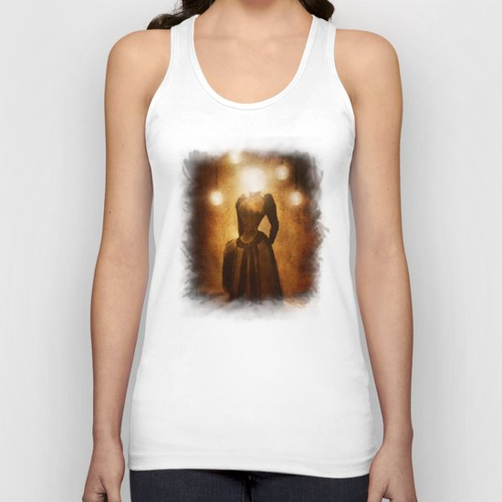 Lady of the Light Unisex Tank Top